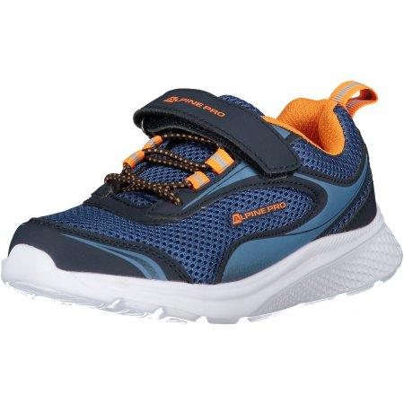Dětské boty ALPINE PRO LENIE KBTT284 TMAVĚ MODRÁ