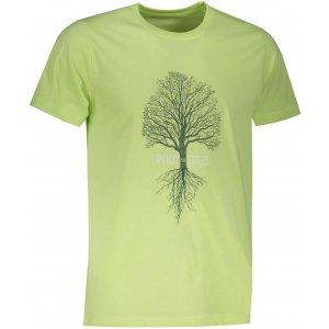 Pánské triko ALPINE PRO EKOS MTST553 SVĚTLE ZELENÁ