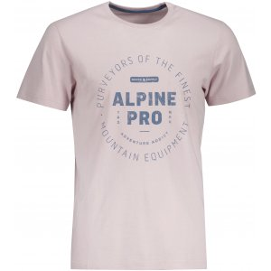 Pánské triko ALPINE PRO LEVEK MTSU669 FIALOVÁ