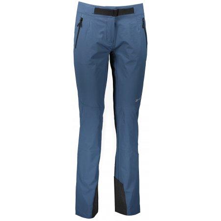 Dámské softshellové kalhoty ALPINE PRO ROHANA LPAU342 MODRÁ