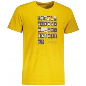 Pánské triko ALPINE PRO CRESS MTSU629 ŽLUTÁ