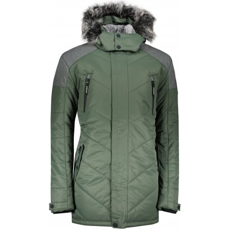 Pánská zimní bunda ALPINE PRO ICYB 7 MJCU486 ZELENÁ