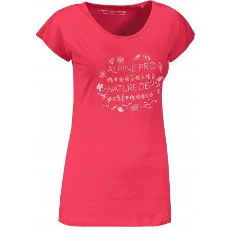 Dámské triko ALPINE PRO KANGA LTSU833 RŮŽOVÁ