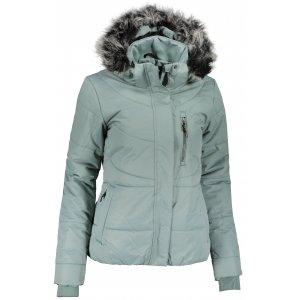 Dámská zimní bunda ALPINE PRO GABRIELLA 5 LJCU454 ZELENÁ