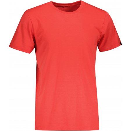 Pánské triko ALPINE PRO MARAH MTSU702 ČERVENÁ