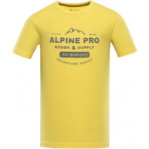 Pánské triko ALPINE PRO BYLID MTSU668 ŽLUTÁ