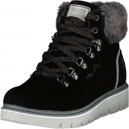 Dámské zimní boty ALPINE PRO MARLA LBTU355 ČERNÁ