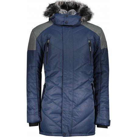 Pánská zimní bunda ALPINE PRO ICYB 7 MJCU486 TMAVĚ MODRÁ