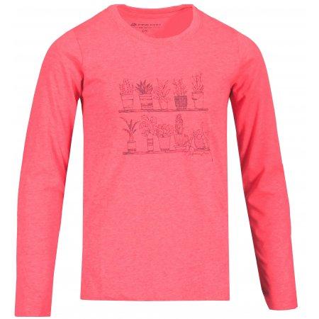 Dívčí triko ALPINE PRO RIMONO KTSU345 RŮŽOVÁ