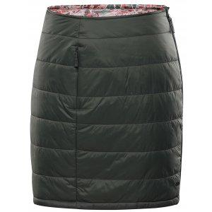 Dámská sukně ALPINE PRO TRINITY 8 LSKU316 ZELENÁ