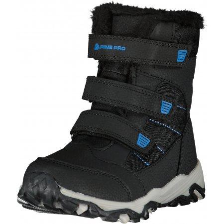 Dětské zimní boty ALPINE PRO COLONO KBTU306 MODRÁ