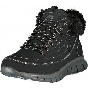 Dámské zimní boty ALPINE PRO CORMA LBTU361 ČERNÁ