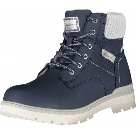 Dámské zimní boty ALPINE PRO BELLIA LBTU354 TMAVĚ MODRÁ