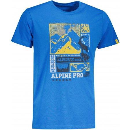 Pánské triko ALPINE PRO CRESS MTSU629 MODRÁ