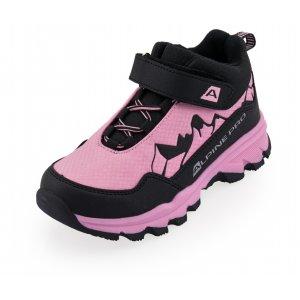 Dětské zimní boty ALPINE PRO MONTINO KBTU308 RŮŽOVÁ