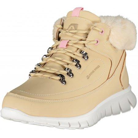 Dámské zimní boty ALPINE PRO CORMA LBTU361 SVĚTLE HNĚDÁ