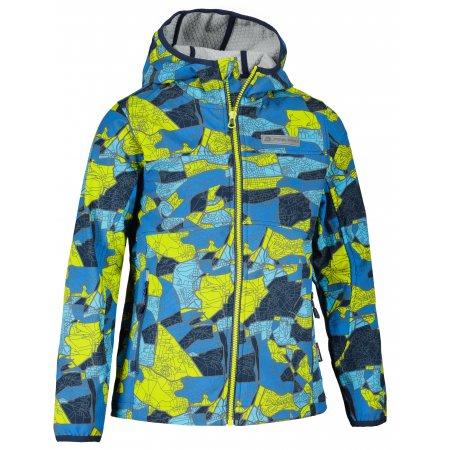 Chlapecká softshellová bunda ALPINE PRO NOOTKO 14 KJCU227 MODRÁ