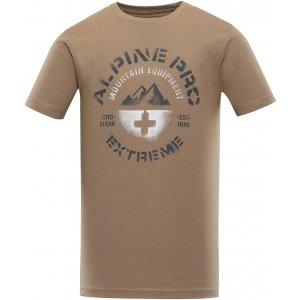 Pánské triko ALPINE PRO DRACH MTSU564 HNĚDÁ
