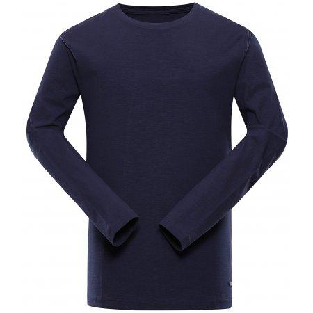 Pánské triko ALPINE PRO MEGAN 2 MTSU631 TMAVĚ MODRÁ