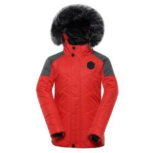 Dětská zimní bunda ALPINE PRO ICYBO 5 KJCU228 ORANŽOVÁ