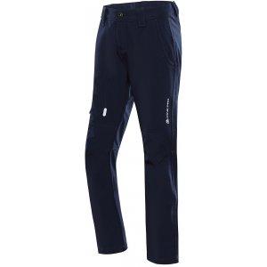 Dětské softshellové kalhoty ALPINE PRO PLATAN 3 INS. KPAU157 TMAVĚ MODRÁ