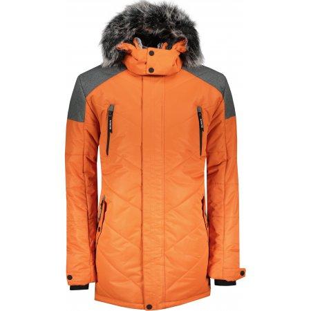 Pánská zimní bunda ALPINE PRO ICYB 7 MJCU486 ORANŽOVÁ