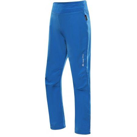 Dětské softshellové  kalhoty ALPINE PRO OCIO INS. KPAU072 MODRÁ