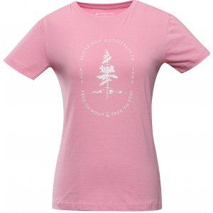 Dámské triko ALPINE PRO MELLA LTSU804 RŮŽOVÁ