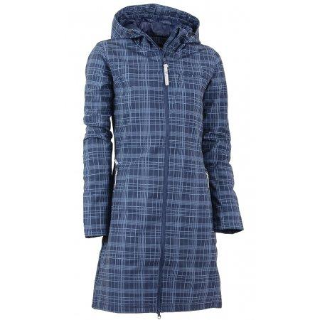 Dámský softshellový kabát ALPINE PRO ASHERAH INS. TMAVĚ MODRÁ