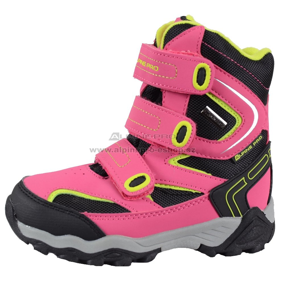 00313039284 Dětské zimní boty ALPINE PRO DAIRO RŮŽOVÁ velikost  EU 30 ...