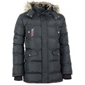 Pánská zimní bunda ALPINE PRO ICYB ČERNÁ