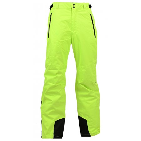 Pánské zimní kalhoty ALPINE PRO FLEMER ŽLUTÁ